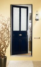 Porte d'entrée PVC et double vitrage