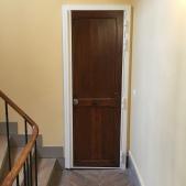 Blindage fourreau conserve la porte d'origine, spécial copropriété, vue de l'extérieur - en chantier - large choix de coloris (gamme RAL)