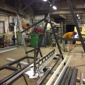 Fabrication d'une pergola en acier