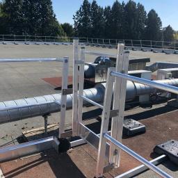 Porte garde corps aluminium