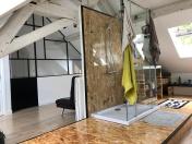 Pliage en acier pour habillage de salle de bain et verrière d'intérieur